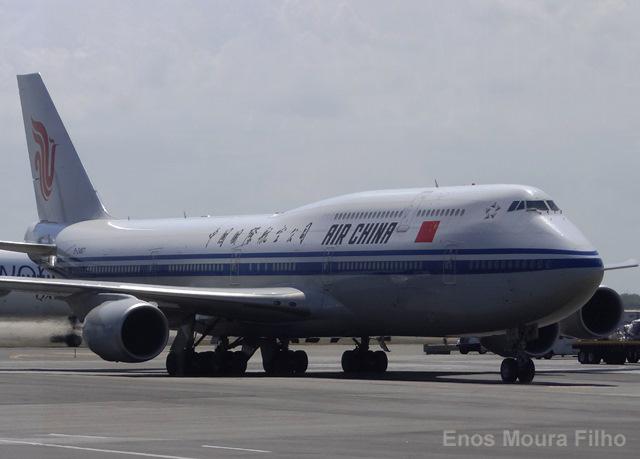 Air China gana 969,9 millones de euros en 2018, un 1,47 % más que en 2017