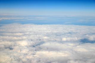 Se hace posible viajar en avión con una visión de 360 grados