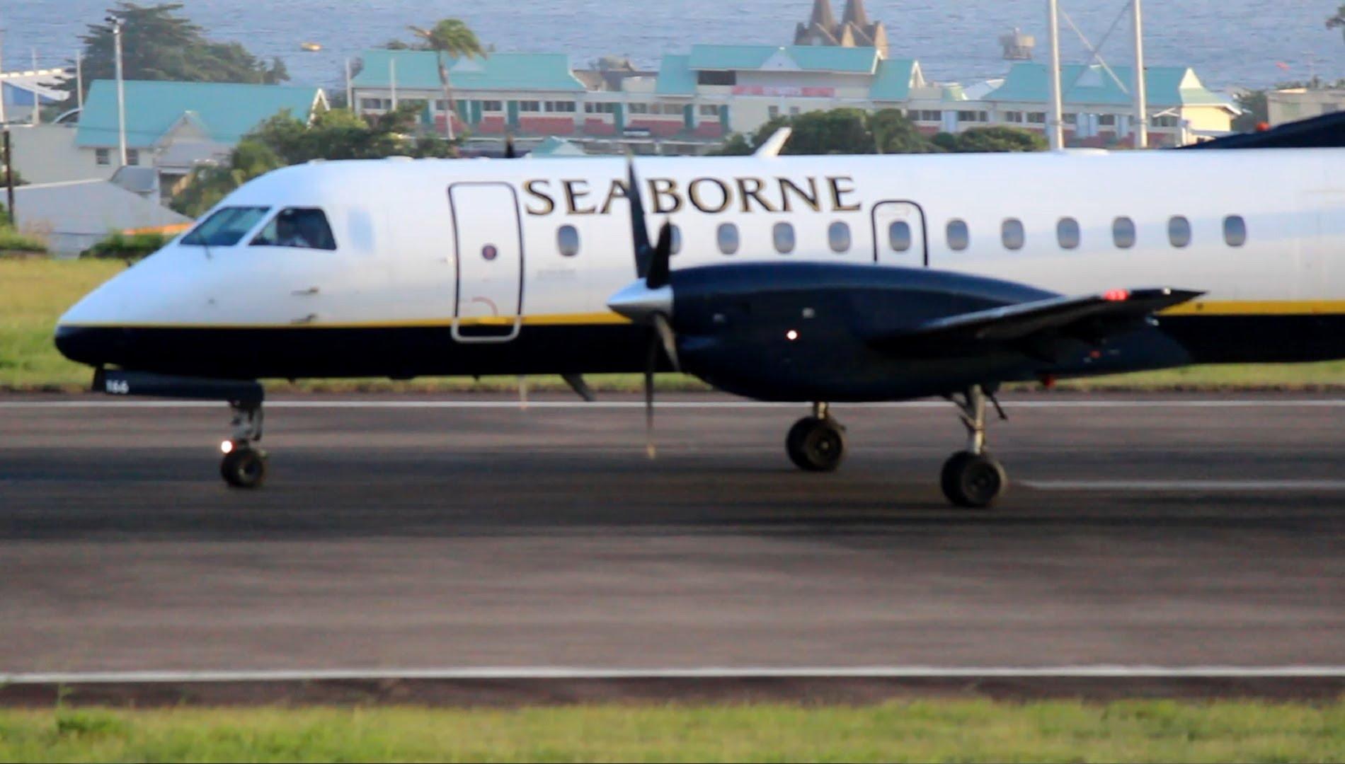 Aerolínea Seaborne declara bancarrota debido a huracanes
