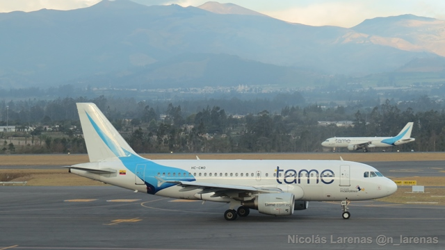 Aerolínea Tame inaugura su vuelo directo a Bogotá