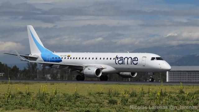 Aerolínea Tame entrará en liquidación, anunció Lenín Moreno