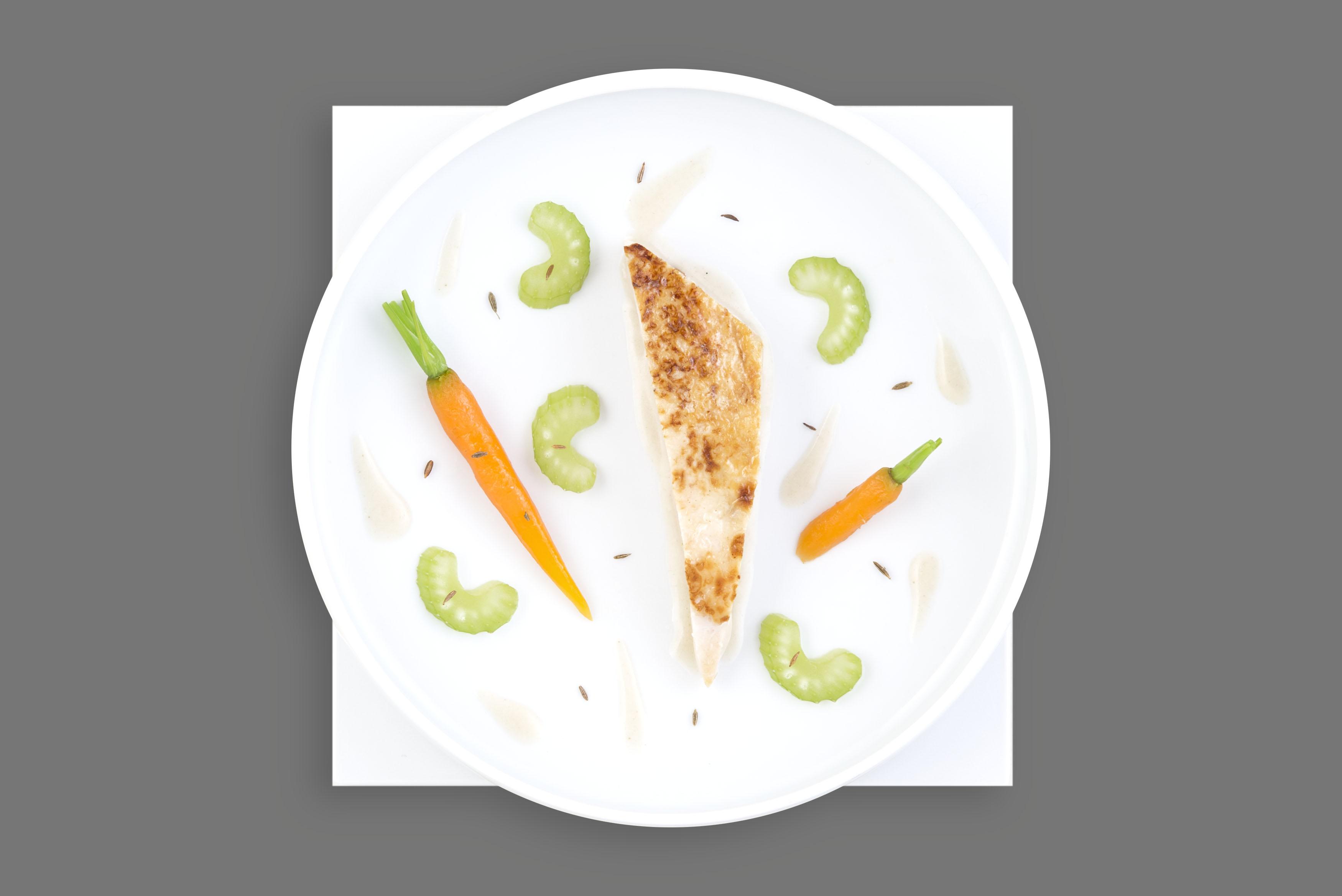 El chef François Adamski diseña la nueva carta Business de Air France