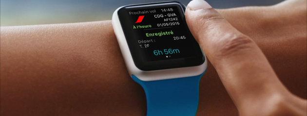 Air France y KLM lanzan una aplicación para relojes inteligentes