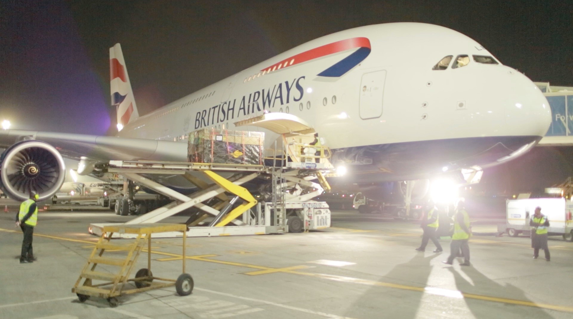 IAG Cargo's first Superjumbo to Miami brings in Heavyweight customers