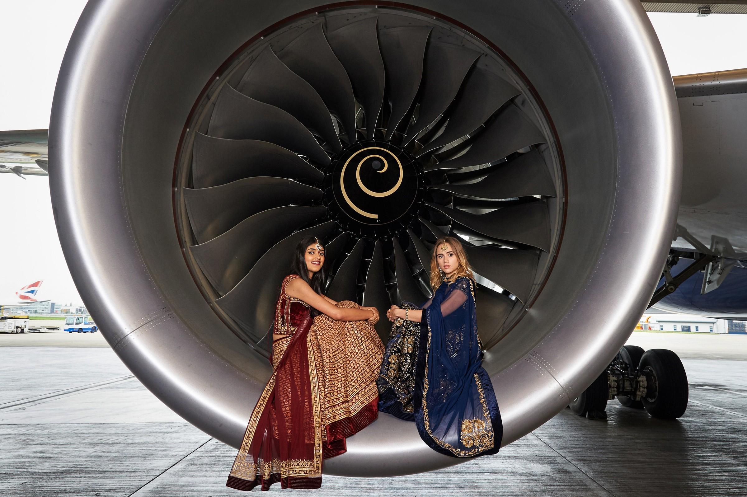 IAG Cargos new 787-9 takes off in Delhi