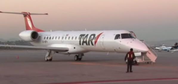 TAR: La aerolínea que no quiere aterrizar en la Ciudad de México