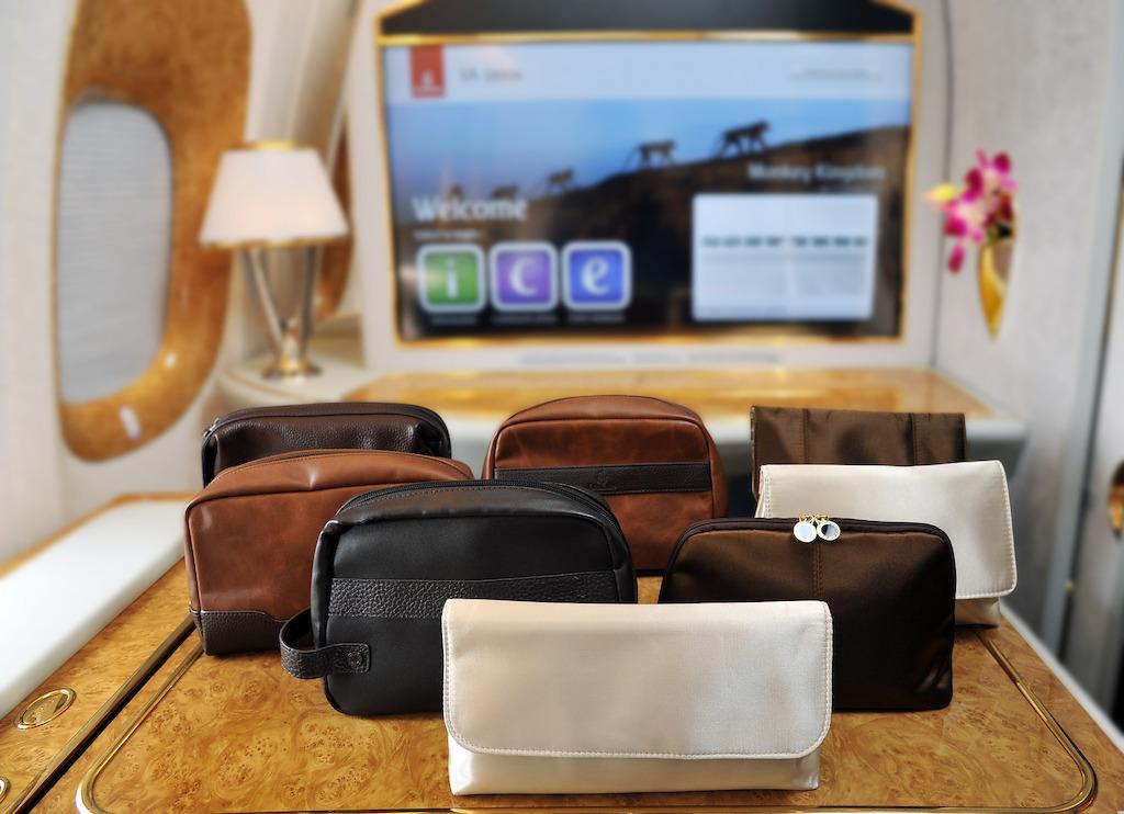 Emirates renueva su kit de viaje  en Clase Ejecutiva y Primera