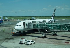 Air New Zealand 777-800 in Ezeiza