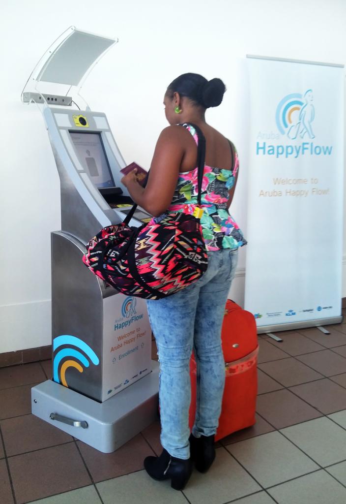 Aruba Happy Flow Check-in Kiosk