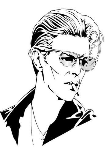 ¿Tenía David Bowie pánico de viajar en avión?