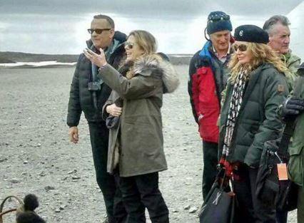 Lo logró: Tom Hanks pudo conocer la Antártica