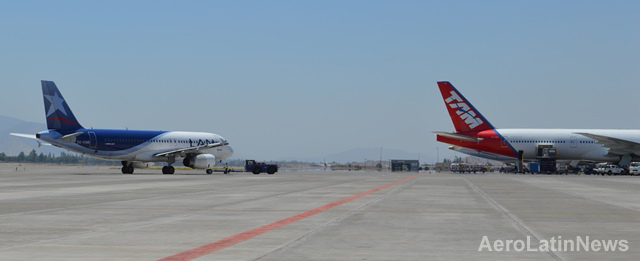 Chile: Aeropuerto de Pudahuel cerrará por más de dos meses una de sus pistas a partir del próximo lunes