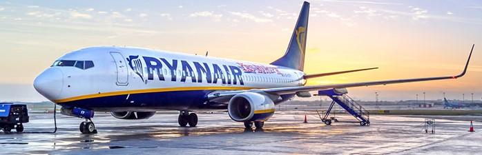 Ryanair aumentará dos centímetros el espacio para las piernas en avión