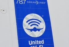 United 787 9 WiFi