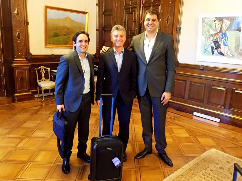 Bluesmart visits the President of Argentina