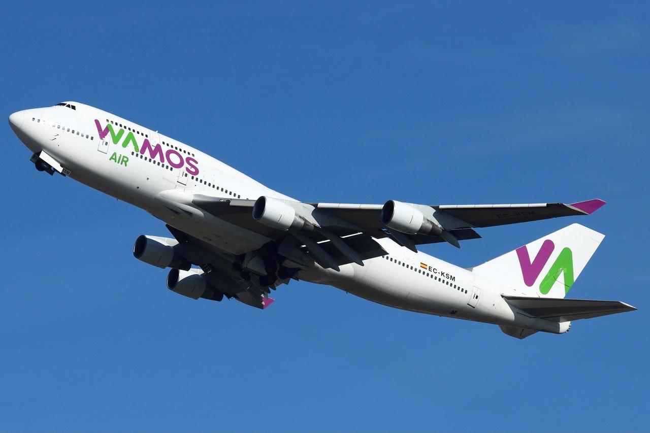 Wamos Air duplica su flota y prevé superar el millón de pasajeros