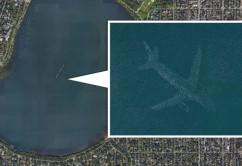 avion agua google earth