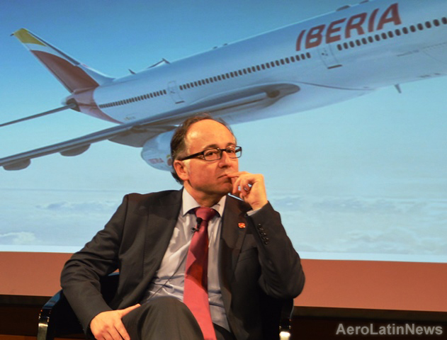 """Luis  Gallego: """"Sin aviones no hay turismo y, sin turismo ni movilidad, peligra nuestro país»"""
