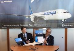 Llega el primer B787 de Air Europa