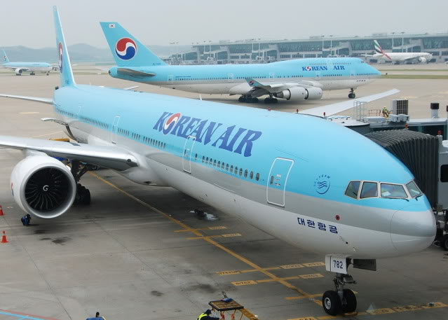 Korean Air solicita permiso para transporte aéreo regular entre Seúl y Lima