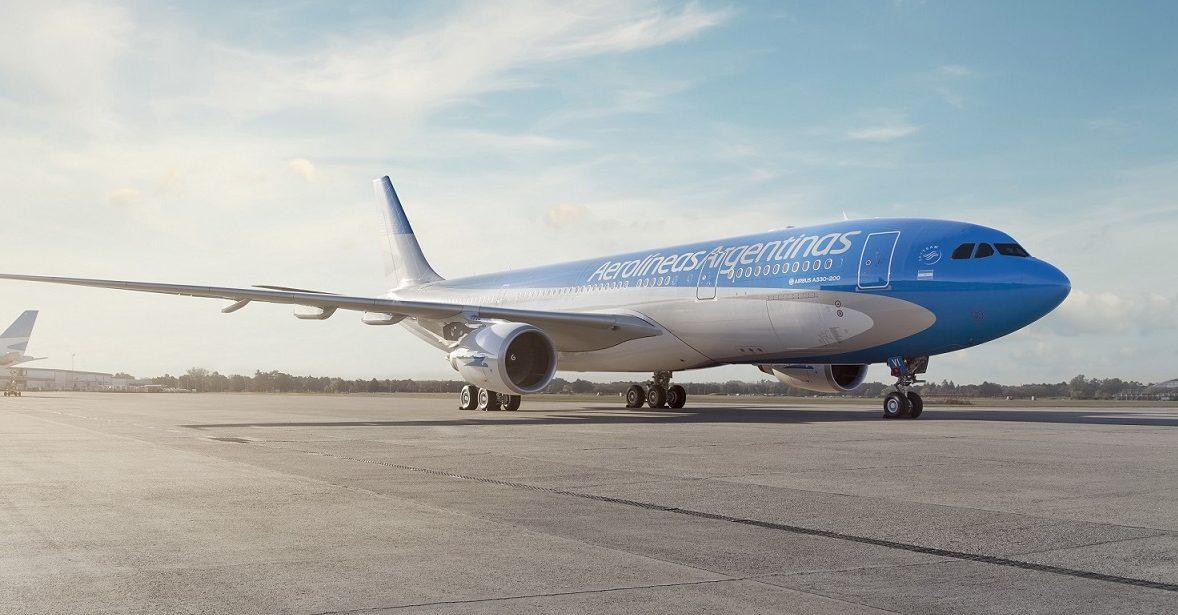 Aerolíneas Argentinas, entre las más puntuales del mundo