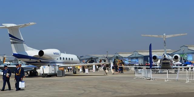 Chile air, space fair features 120 civil, military aircraft