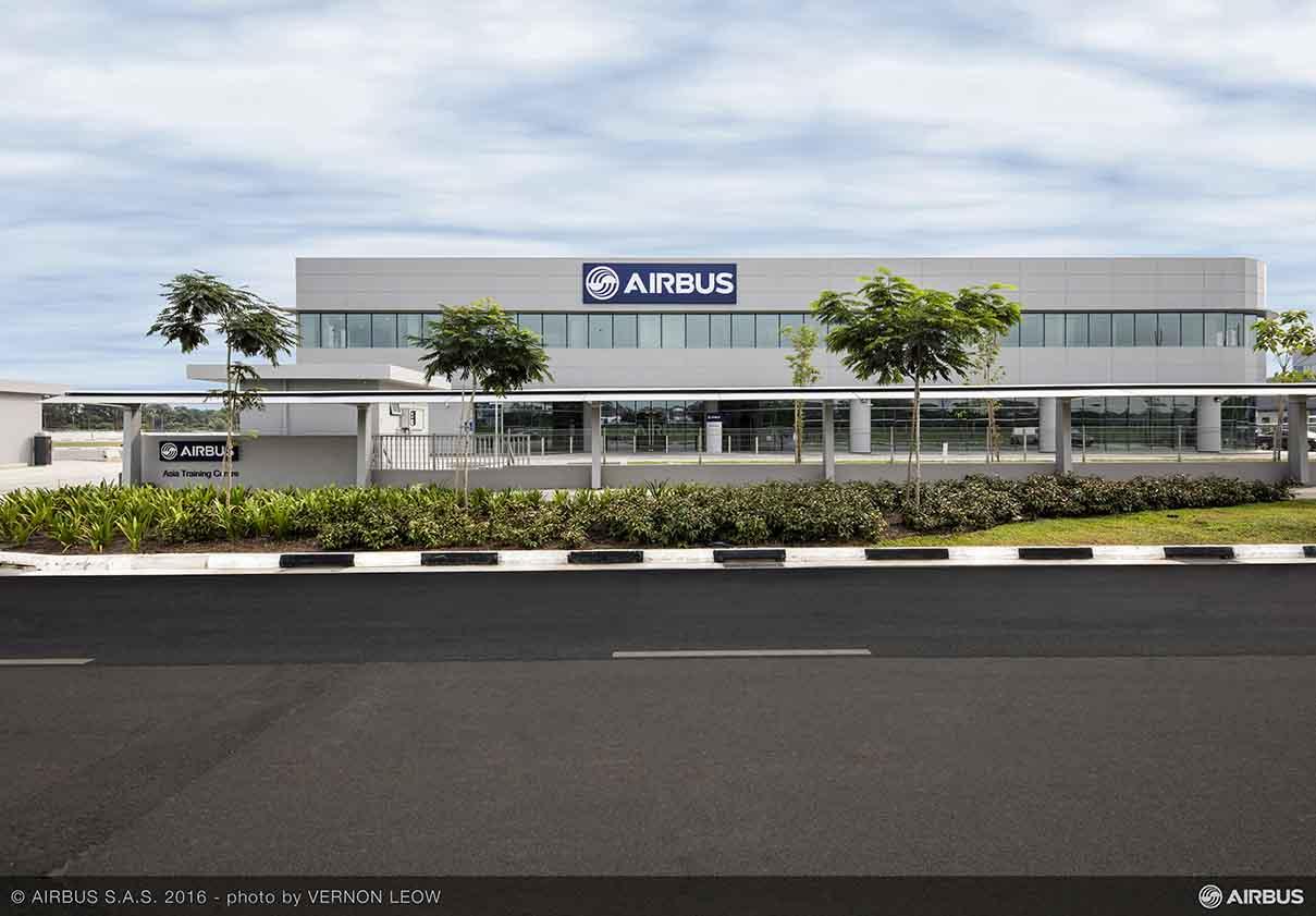 New Airbus Asia Training Centre opens in Singapore