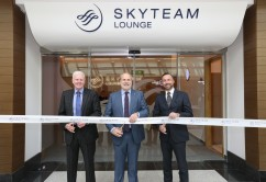 SkyTeam Dubai lounge opening