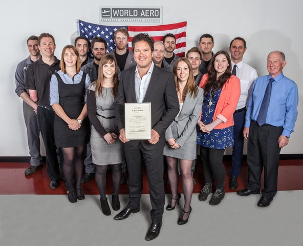 World Aero achieves FAA Part-145 Repair Station certification
