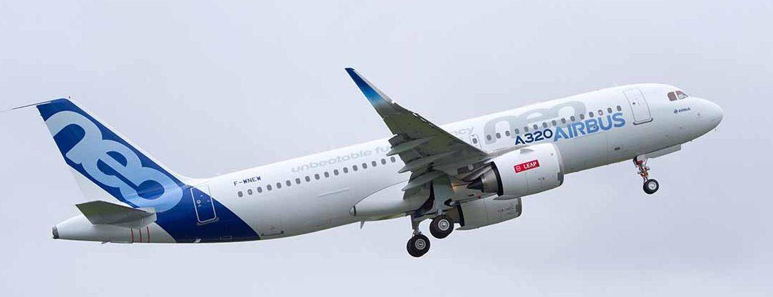 Despega el primer Airbus A320 construido en Estados Unidos