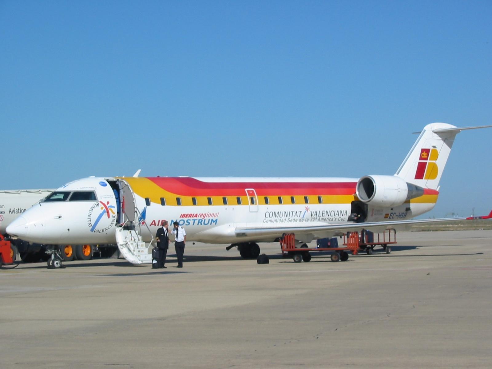 Air Nostrum, elegida segunda mejor compañía regional de Europa por Skytrax