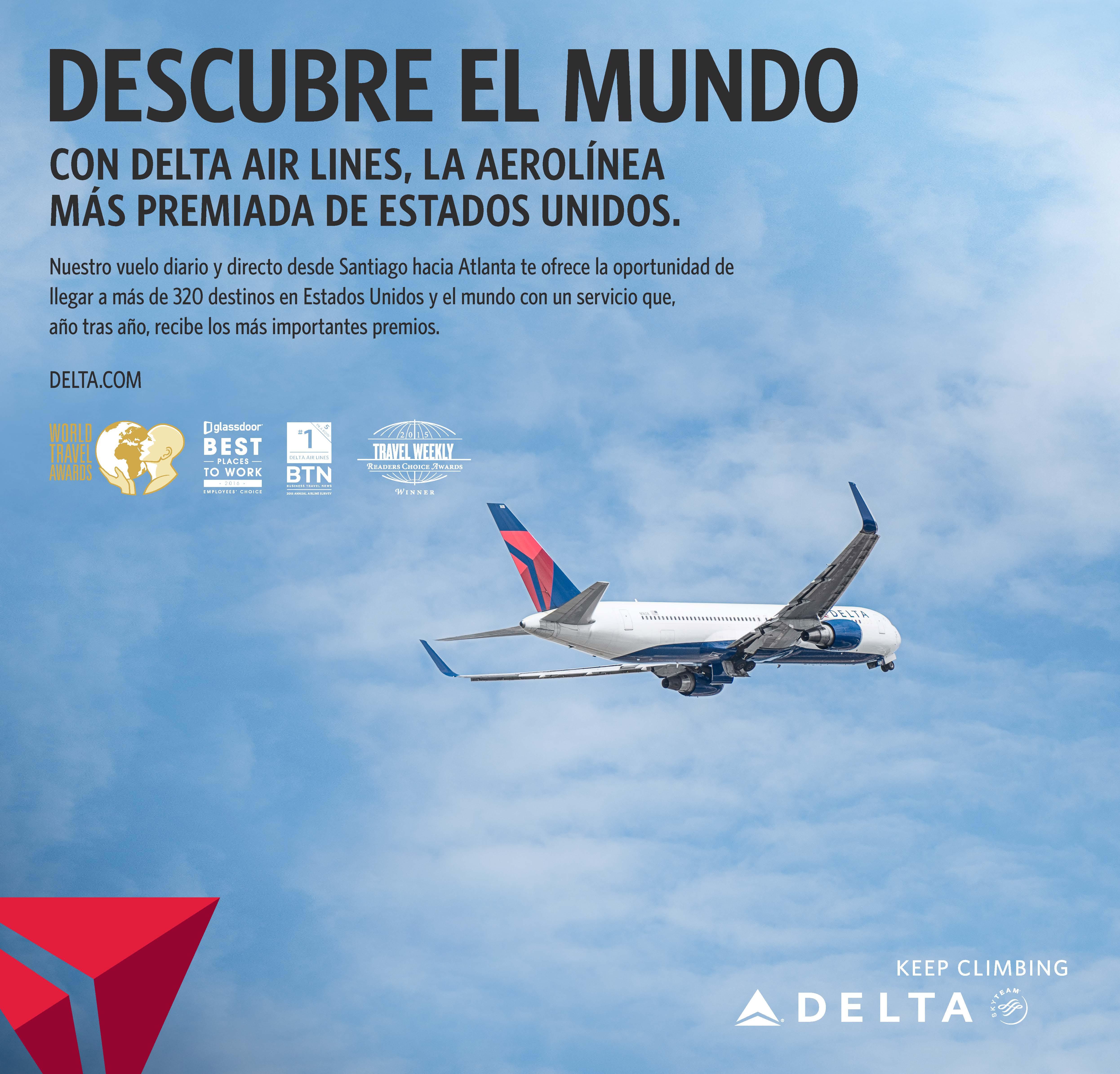 Aviso Delta Chile premios