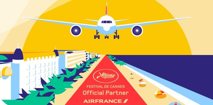 Con motivo del Festival de Cine de Cannes, Air France presenta una selección de películas ganadoras para disfrutar a bordo