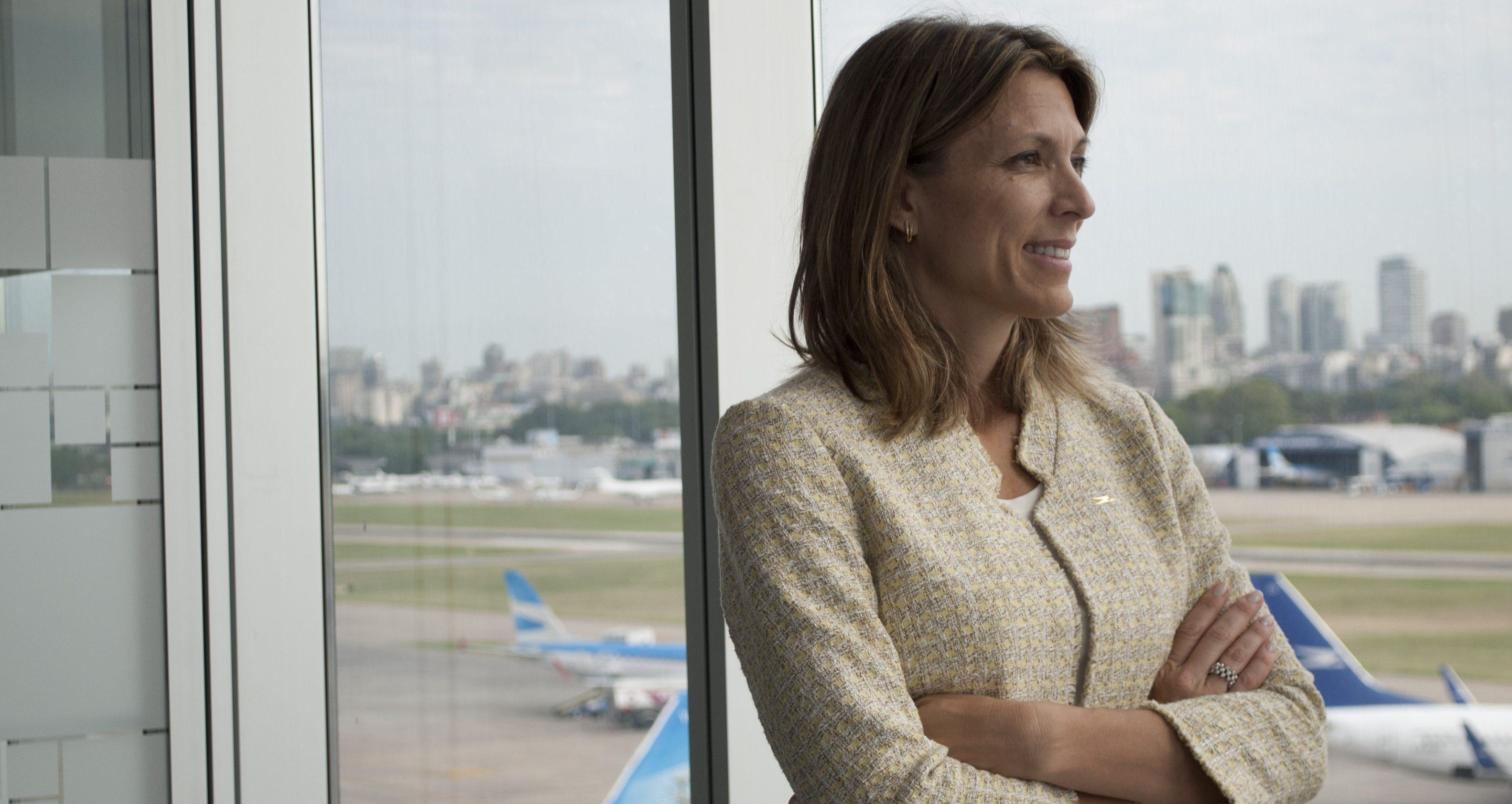 «Aerolíneas Argentinas es más que viable si se la maneja correctamente» Isela Constantini