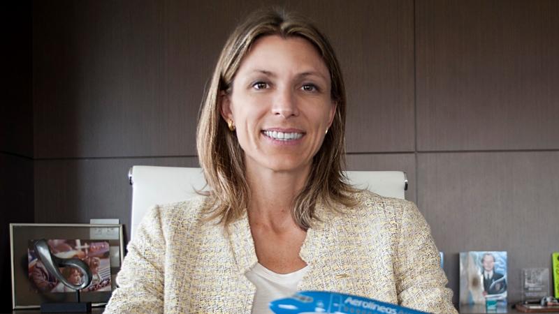 """Isela Costantini, CEO Aerolíneas Argentinas: """"No es cierto que se evalúe una privatización"""""""