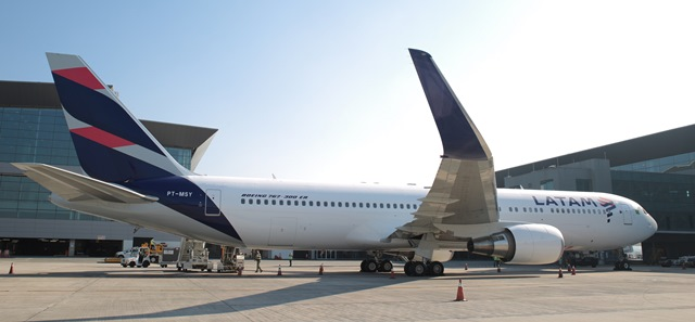 LATAM avion nueva libery