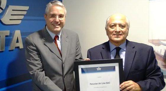 Peruvian Airlines obtiene certificación IOSA por parte de IATA