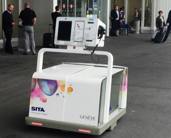 Um robô pode ser o seu novo ajudante ao chegar no aeroporto