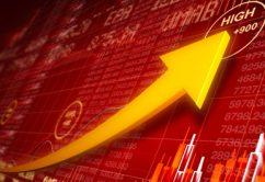 acciones grafico mercado