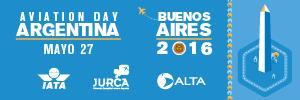 "Argentina dialogará sobre aviación en el ""Aviation Day Argentina 2016"""