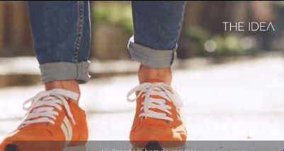 Easyjet inventa la zapatilla inteligente para hacer turismo