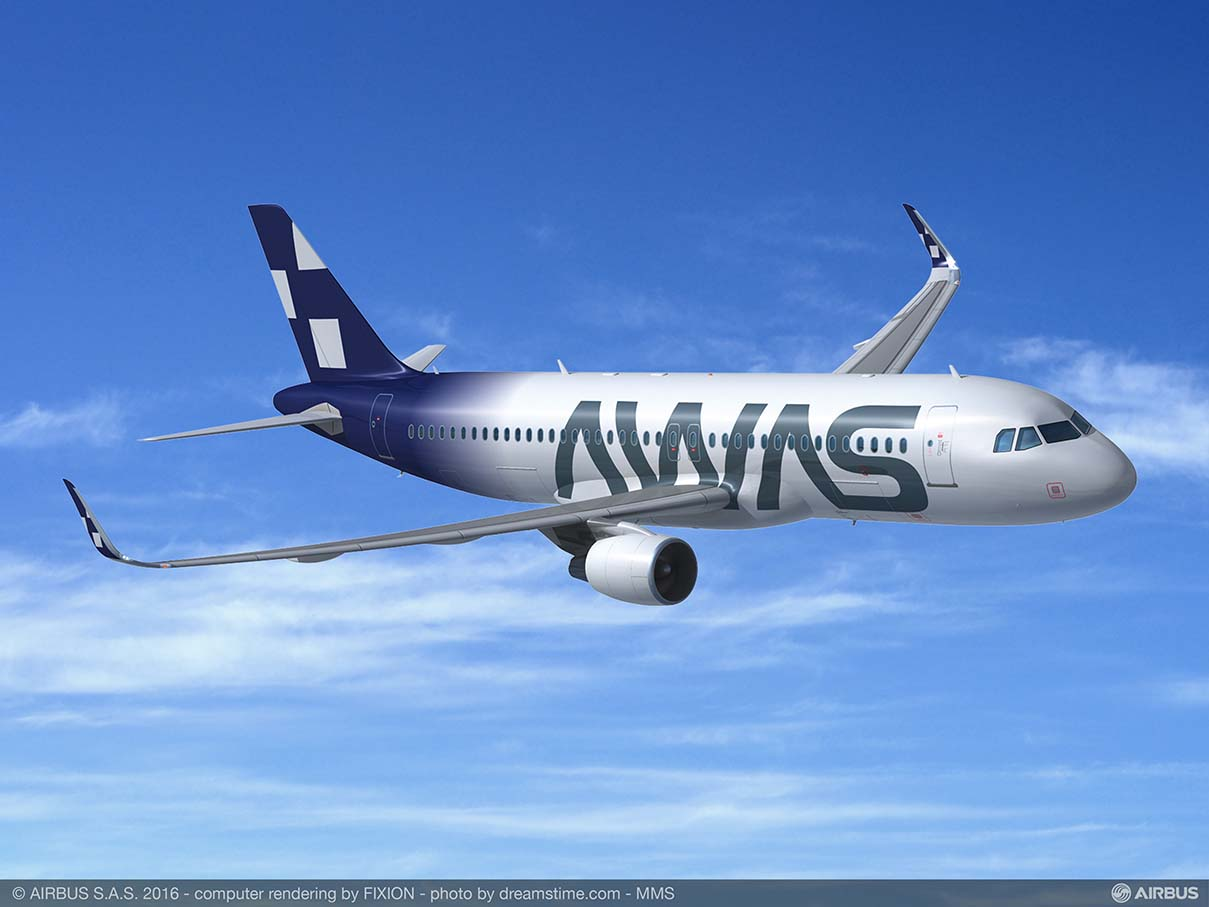 AWAS encarga 15 aviones de la familia A320