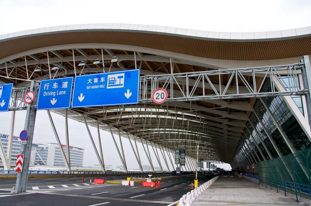 Cinco heridos tras explosión en aeropuerto de Shanghái