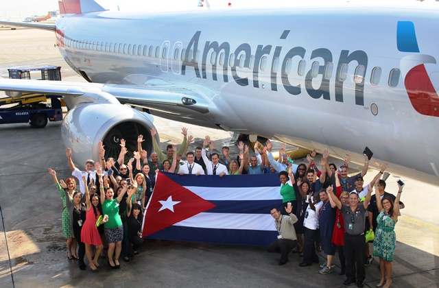 American Airlines posicionada para permanecer como la aerolínea estadounidense líder hacia Cuba con la autorización para operar el servicio programado a La Habana