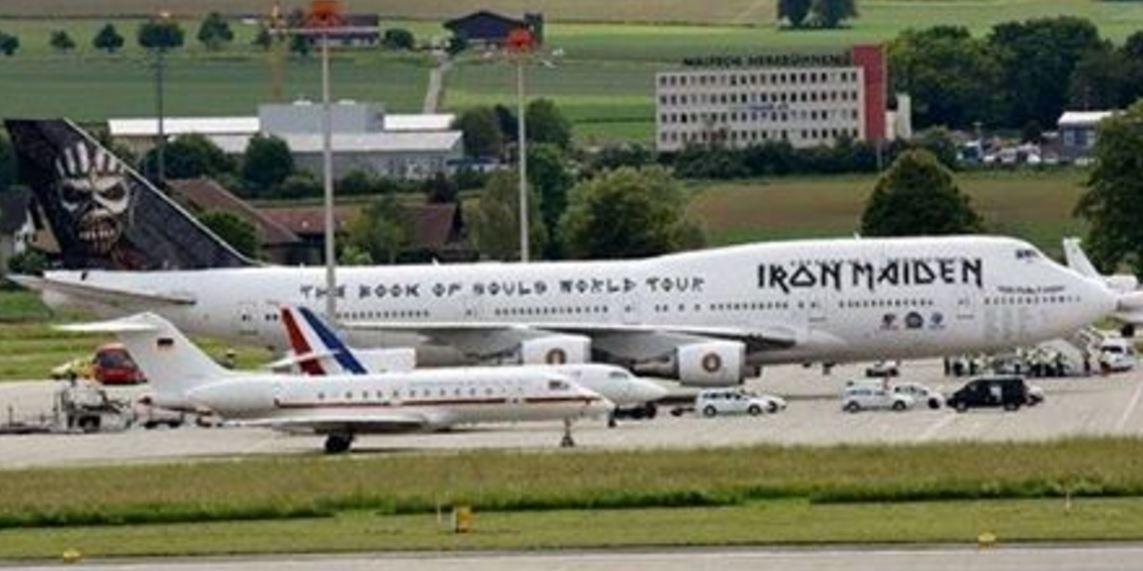 Iron Maiden rompió el silencio sobre la foto de su popular avión