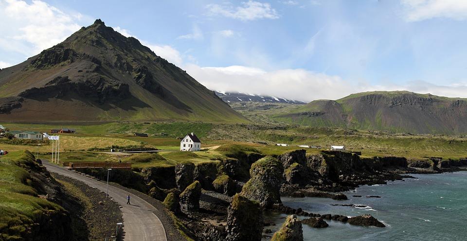 Lugares románticos en Islandia