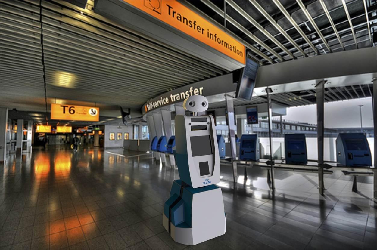 Los aeropuertos del futuro tendrán escaneado facial, robots y jardines