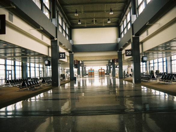 El aeropuerto, sala de juegos de los pokémon