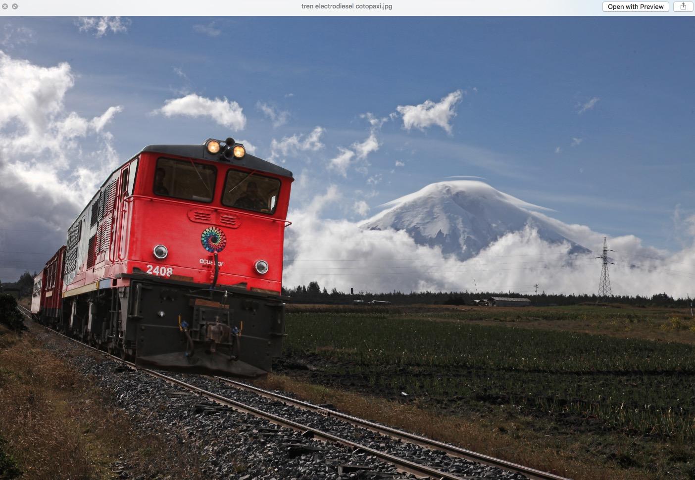 tren volcan ecuador