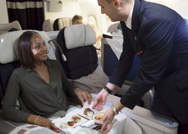 El menú: el nuevo valor de las aerolíneas